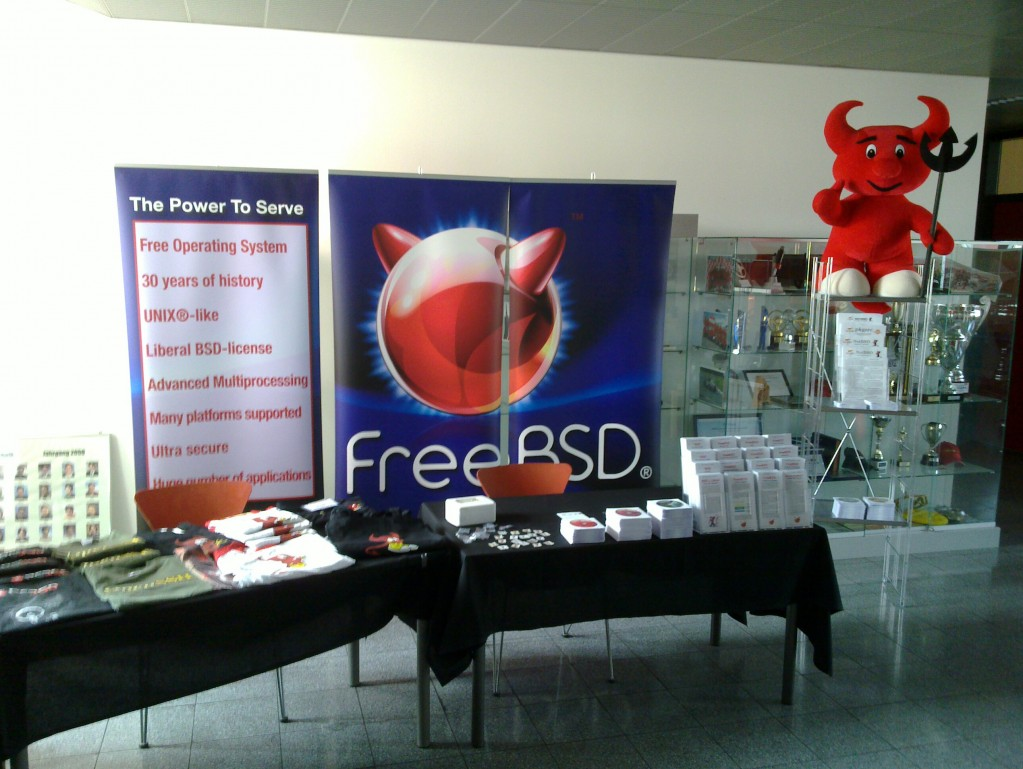 BSD Information Stand